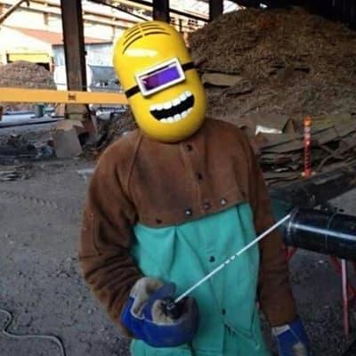 Funny Welding Helmet